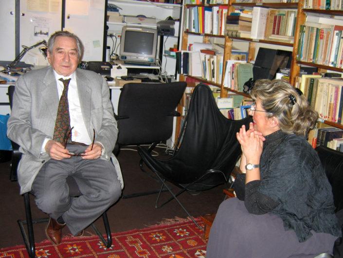 Bianca Tosatti con Salomon Resnik