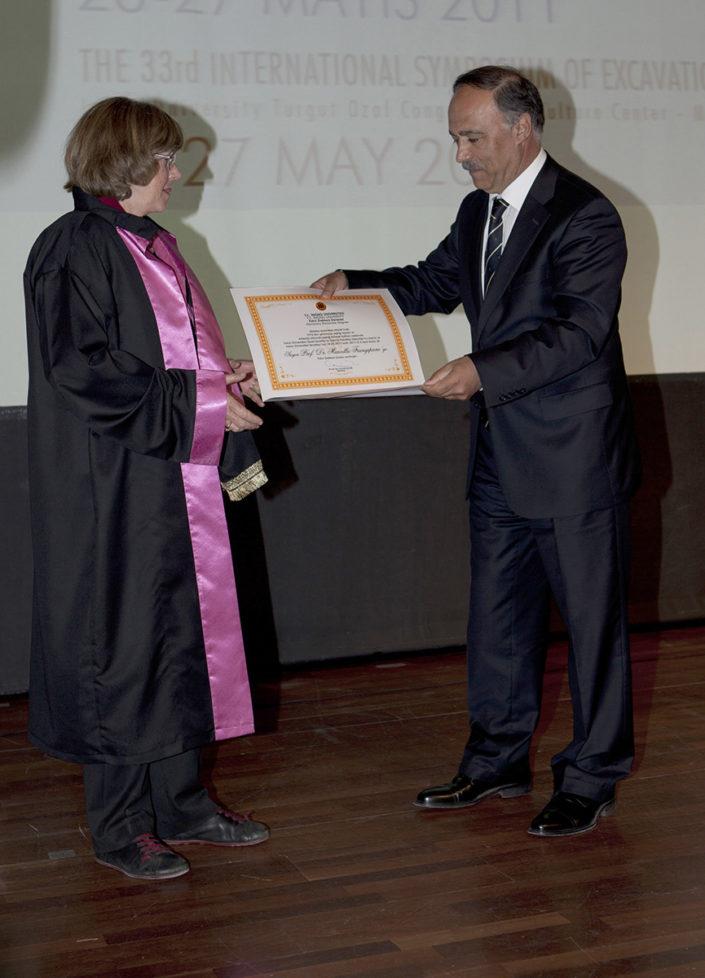 Marcella Frangipane. Dottorato Honoris Causa