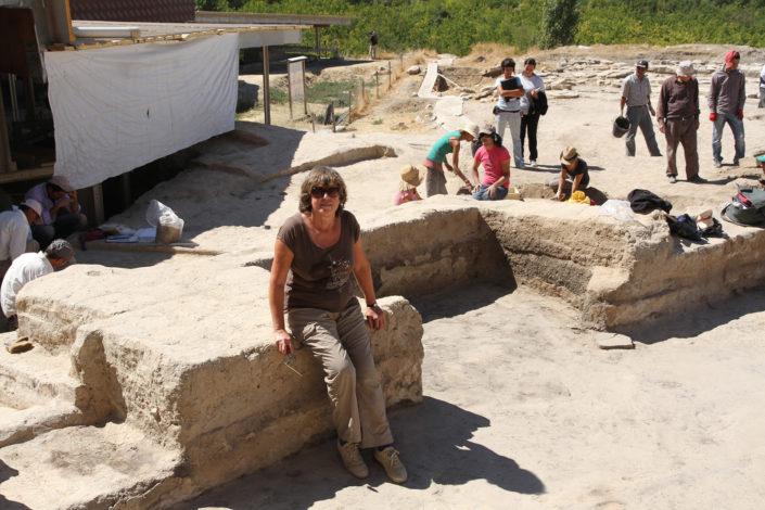 Marcella Frangipane sullo scavo